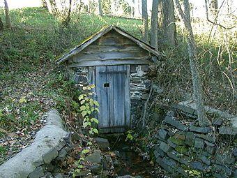 Spring house - Wikipedia, the free encyclopedia