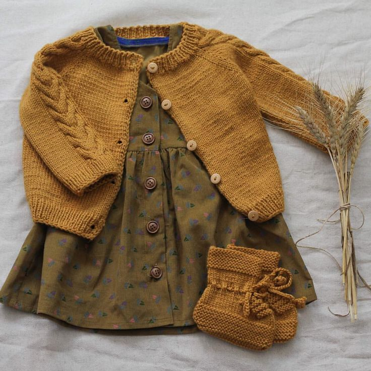 Photo of What a lovely outfit for an autumn day. The colors are just perfect. #kalinkakids – My Blog