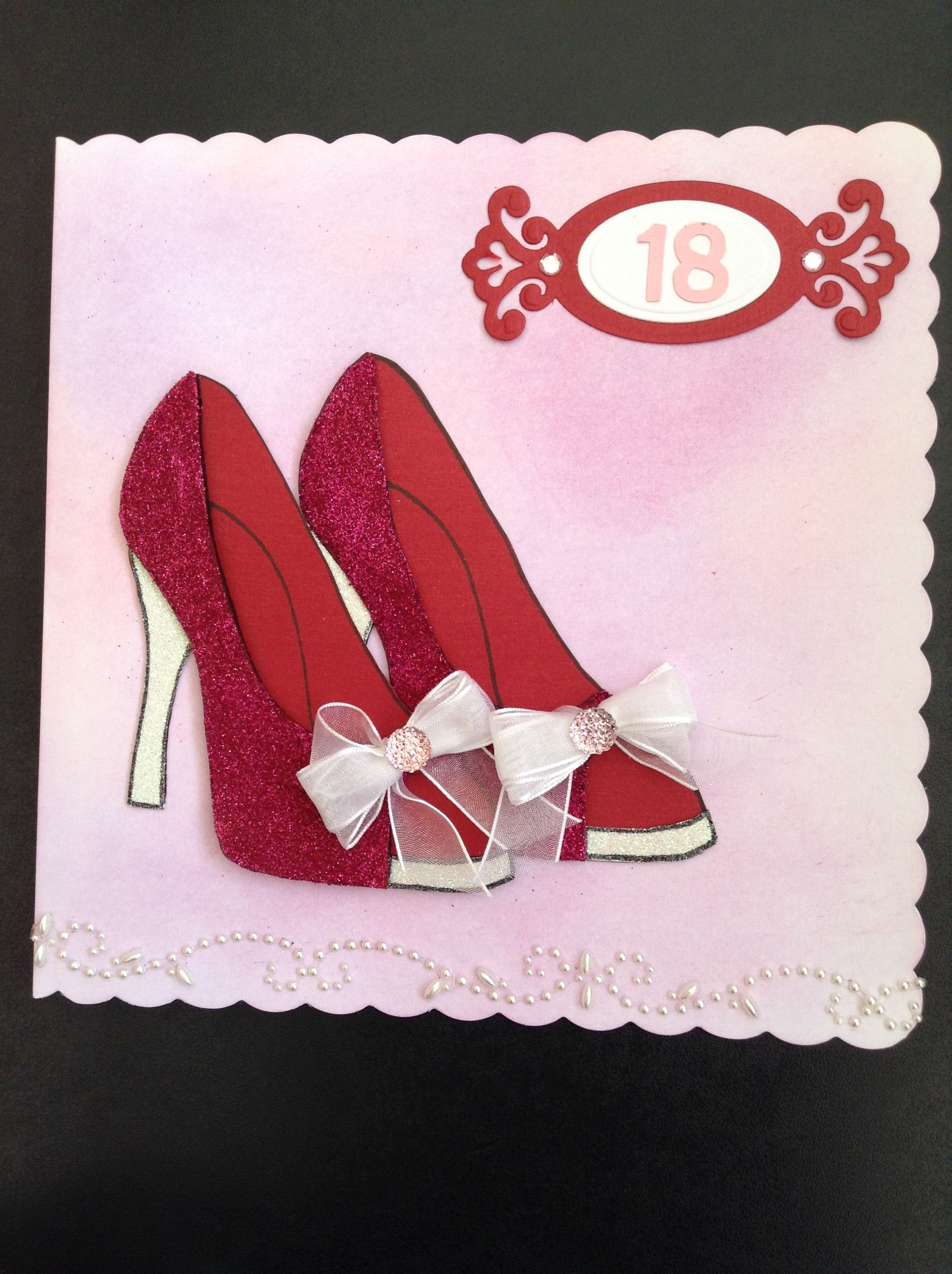 Another Stamps By Chloe Stamp Used For My Daughter S 18th Birthday