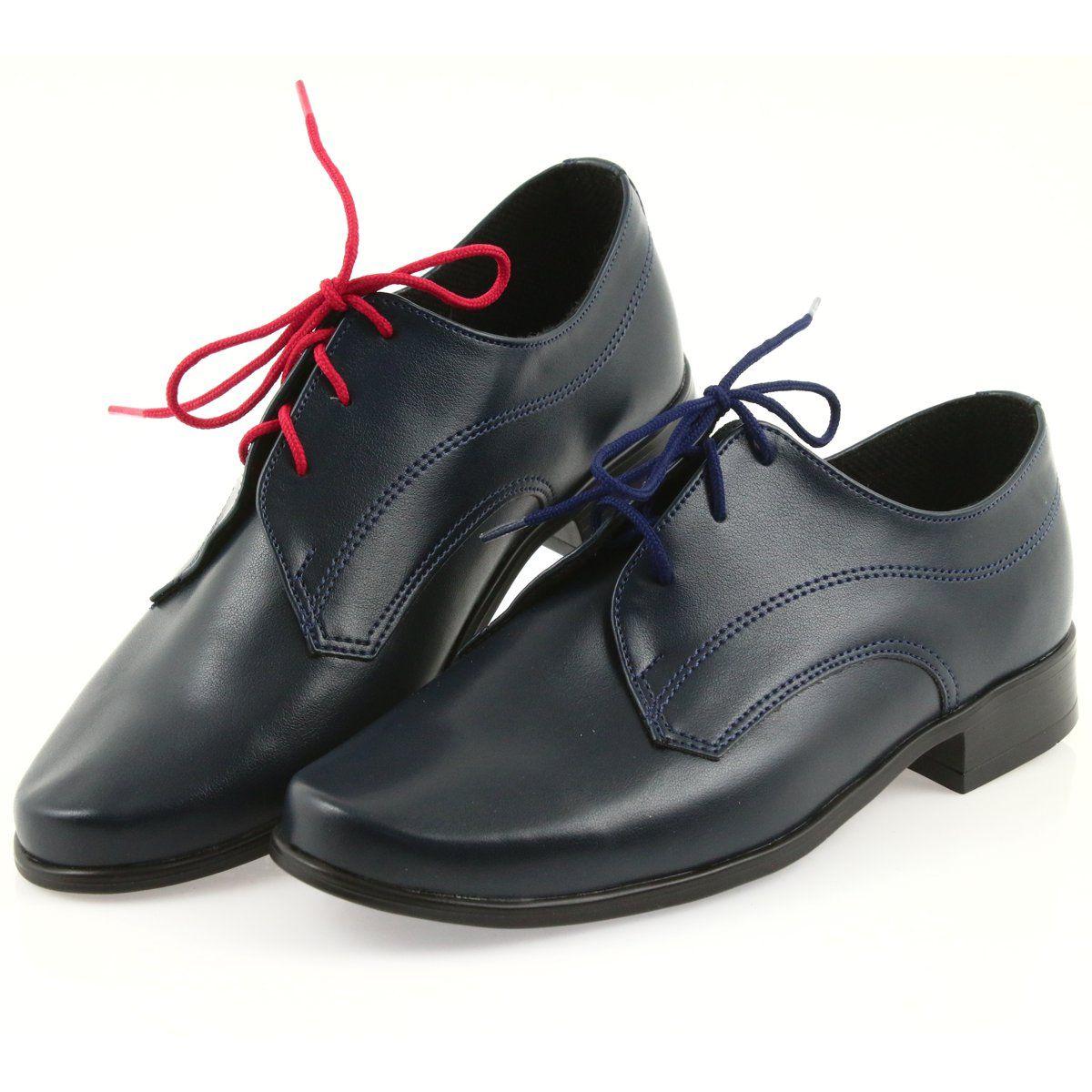 Polbuty I Trzewiki Dzieciece Dla Dzieci Miko Granatowe Miko Polbuty Dzieciece Buty Komunijne Childrens Shoes Childrens Leather Shoes Shoes