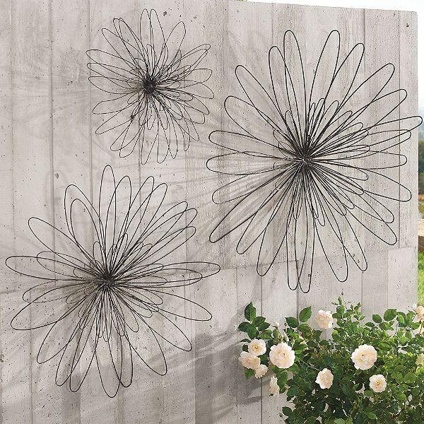 Zinnia Wall Flower Decking The Walls Metal Tree Art