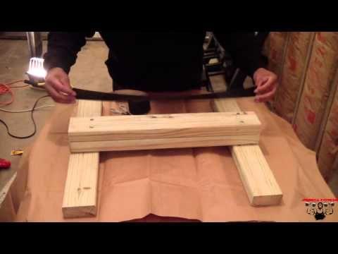how to build a homemade calf raising block very cheap