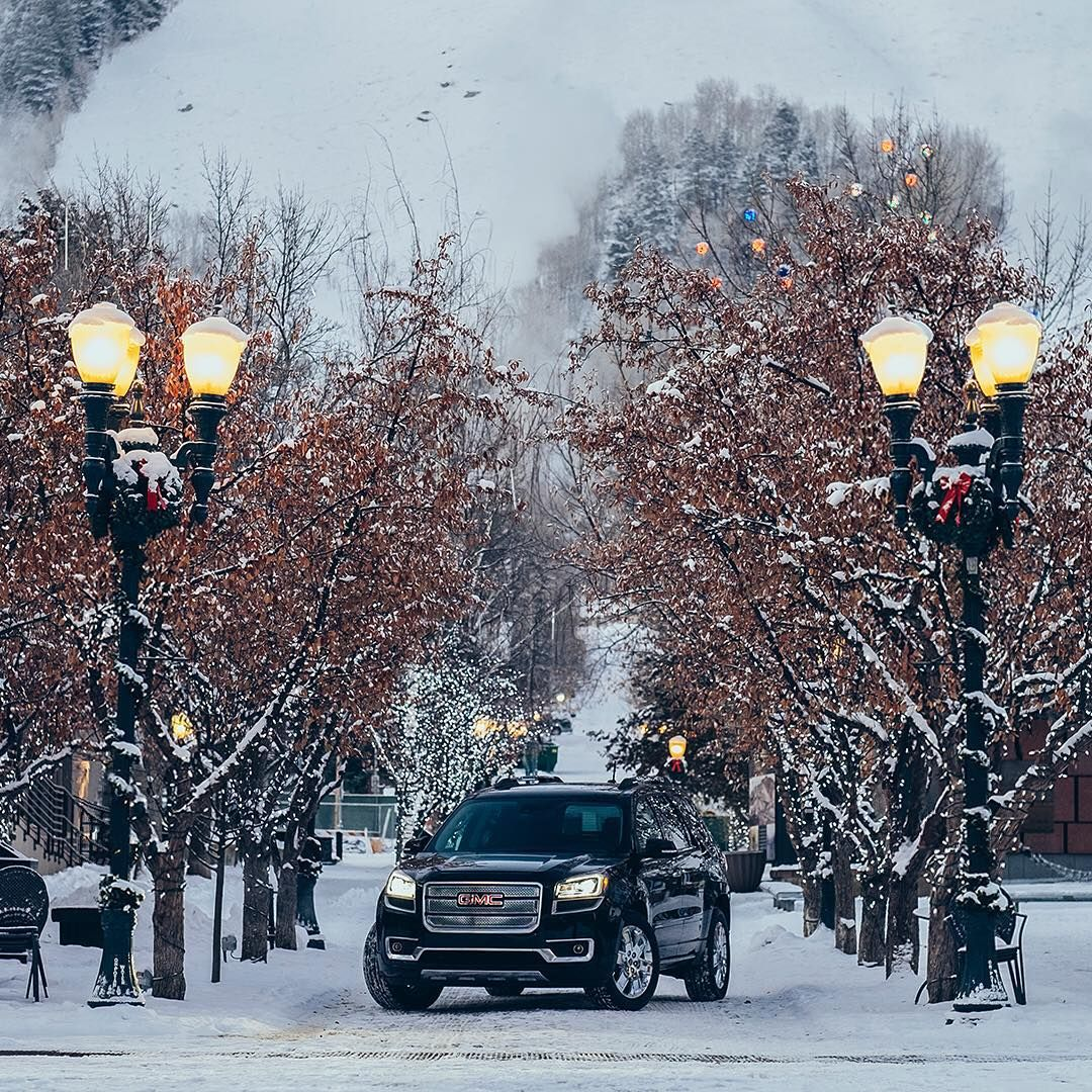 Your Winter Wonderland Complete With Our Gmcacadia Gmc Gmc