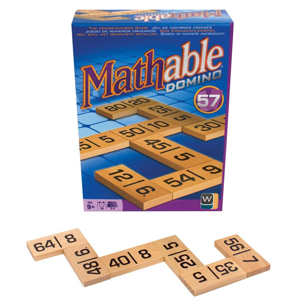 Mathable® Domino Game Basic math, Games, Unique toys