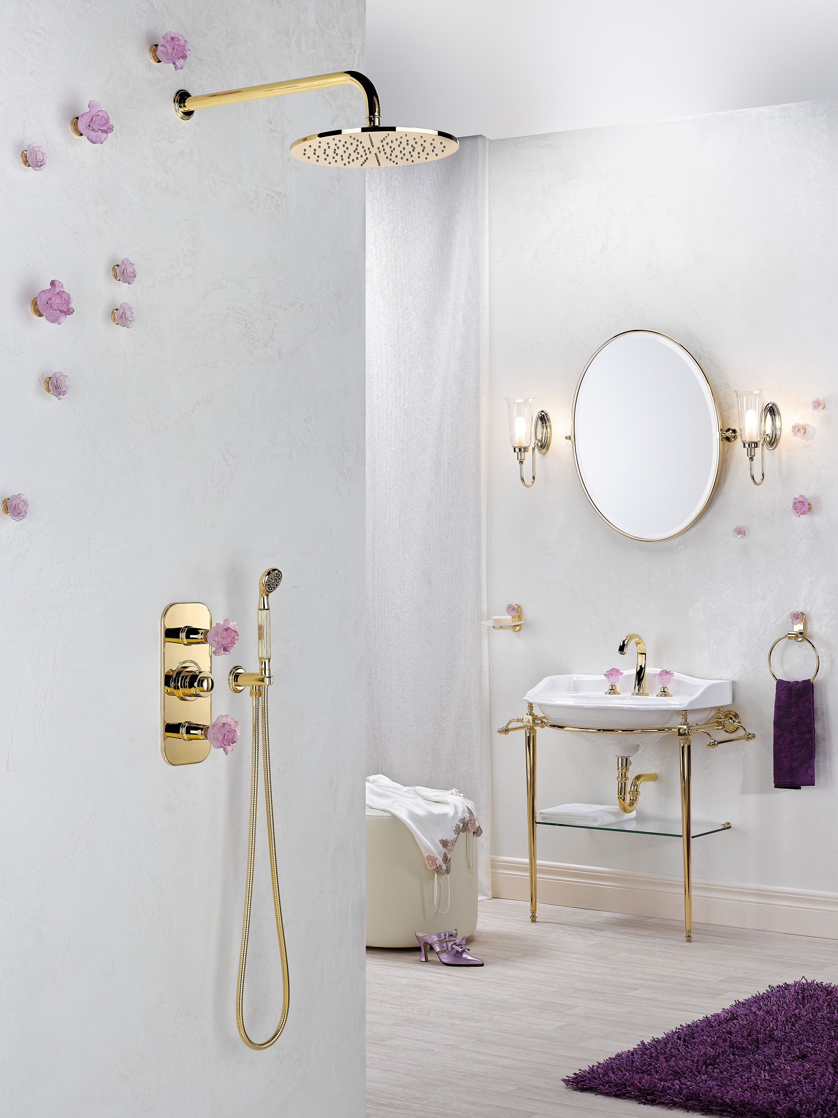 Bathroom accessories by THG-Paris | sakura inspired | Pinterest ...