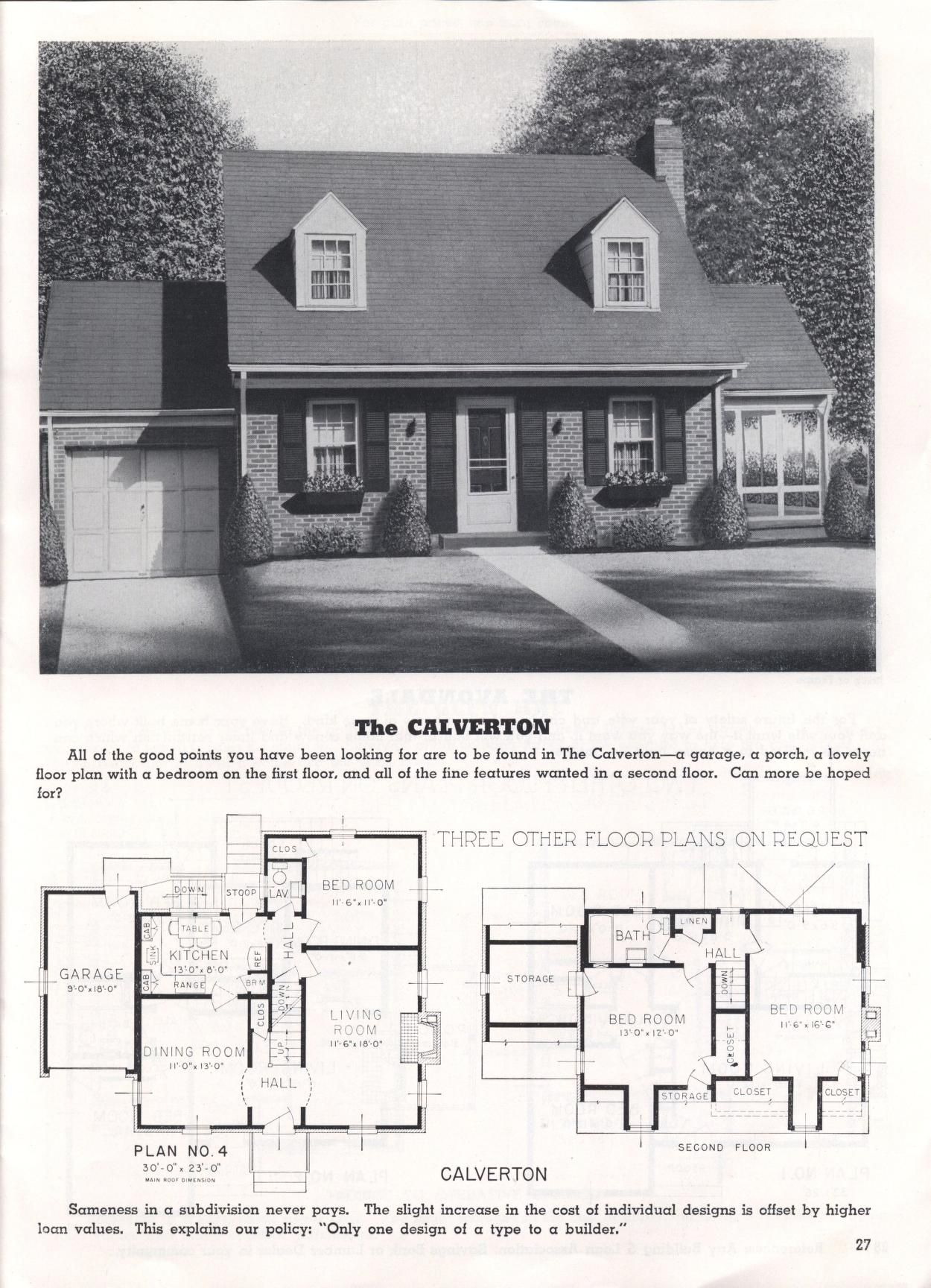 This captivating Cape Cod style home with European ...  |1948 Cape Cod House Plans