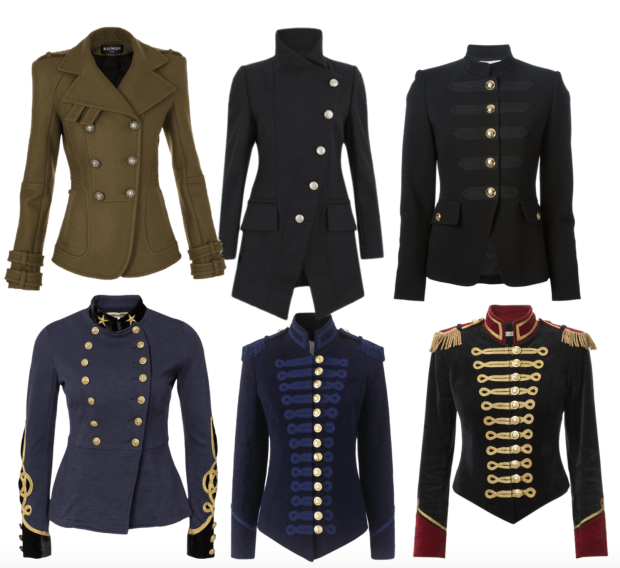 34d036b99df Trend Alert  Military-Inspired Coats - Fashion Style Mag