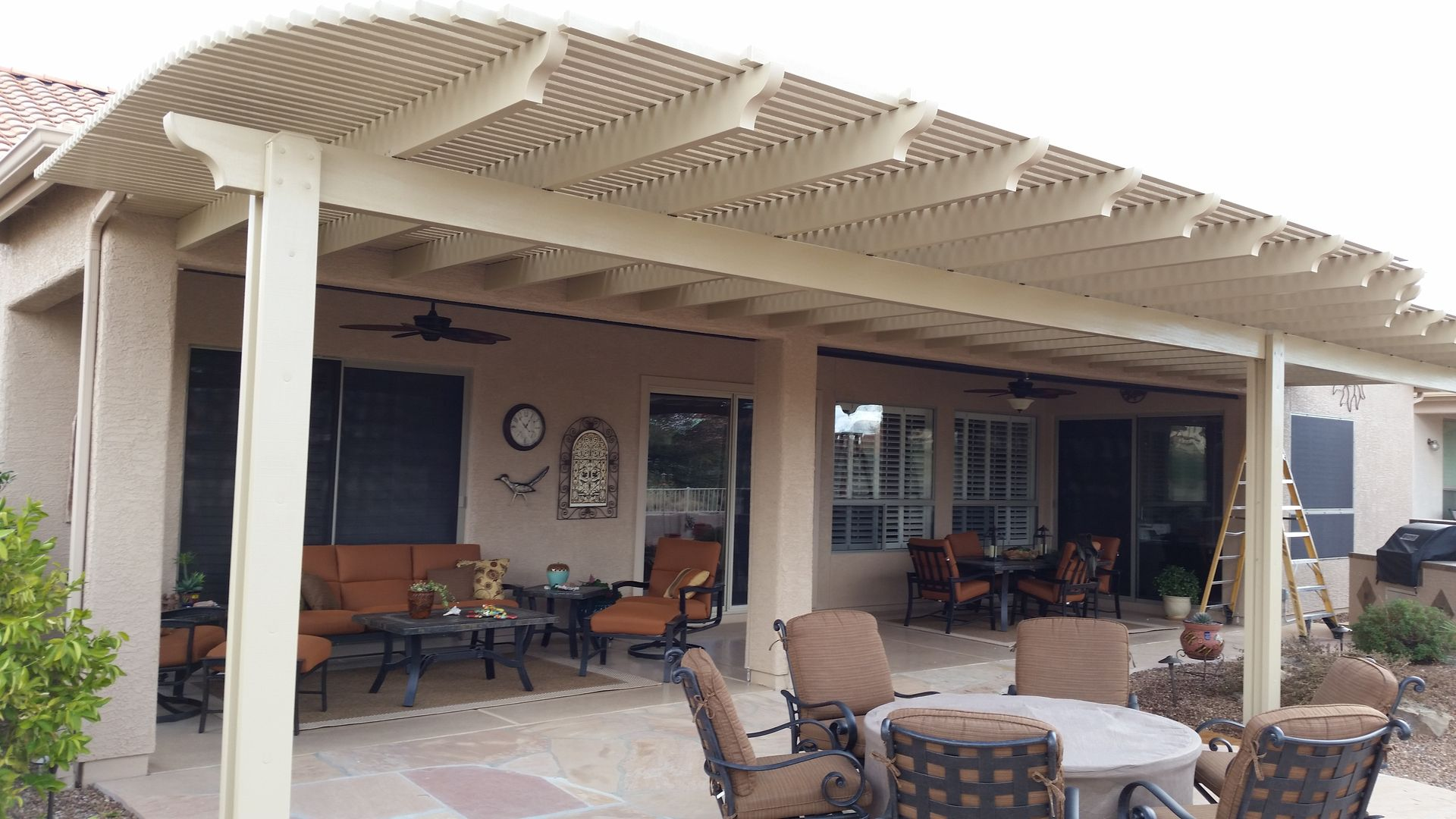 Aluma Lattice Patio Covers Pergola Awnings Lattice Aluminum