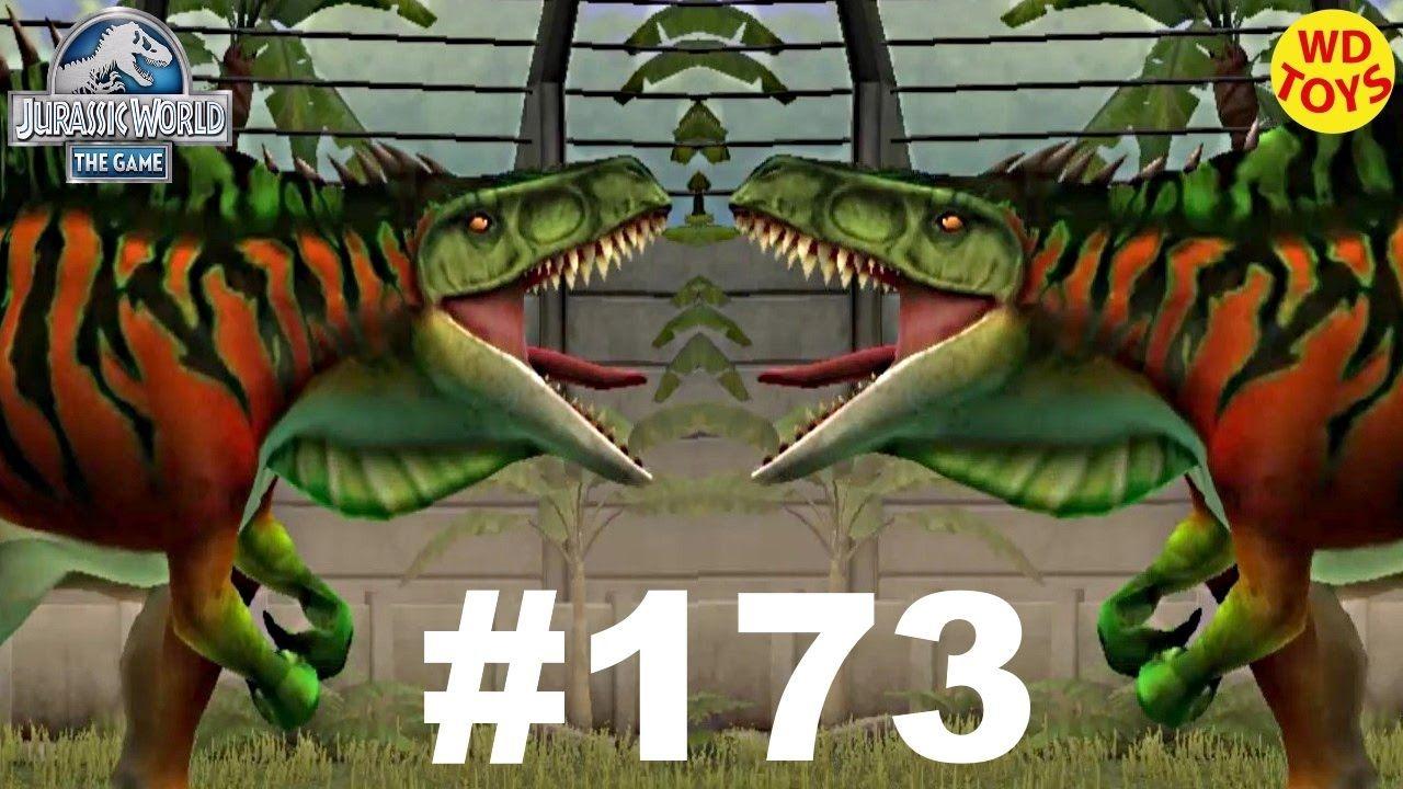 Ostafrikasaurus Level 40 Jurassic World The Game Episode 173 Vs