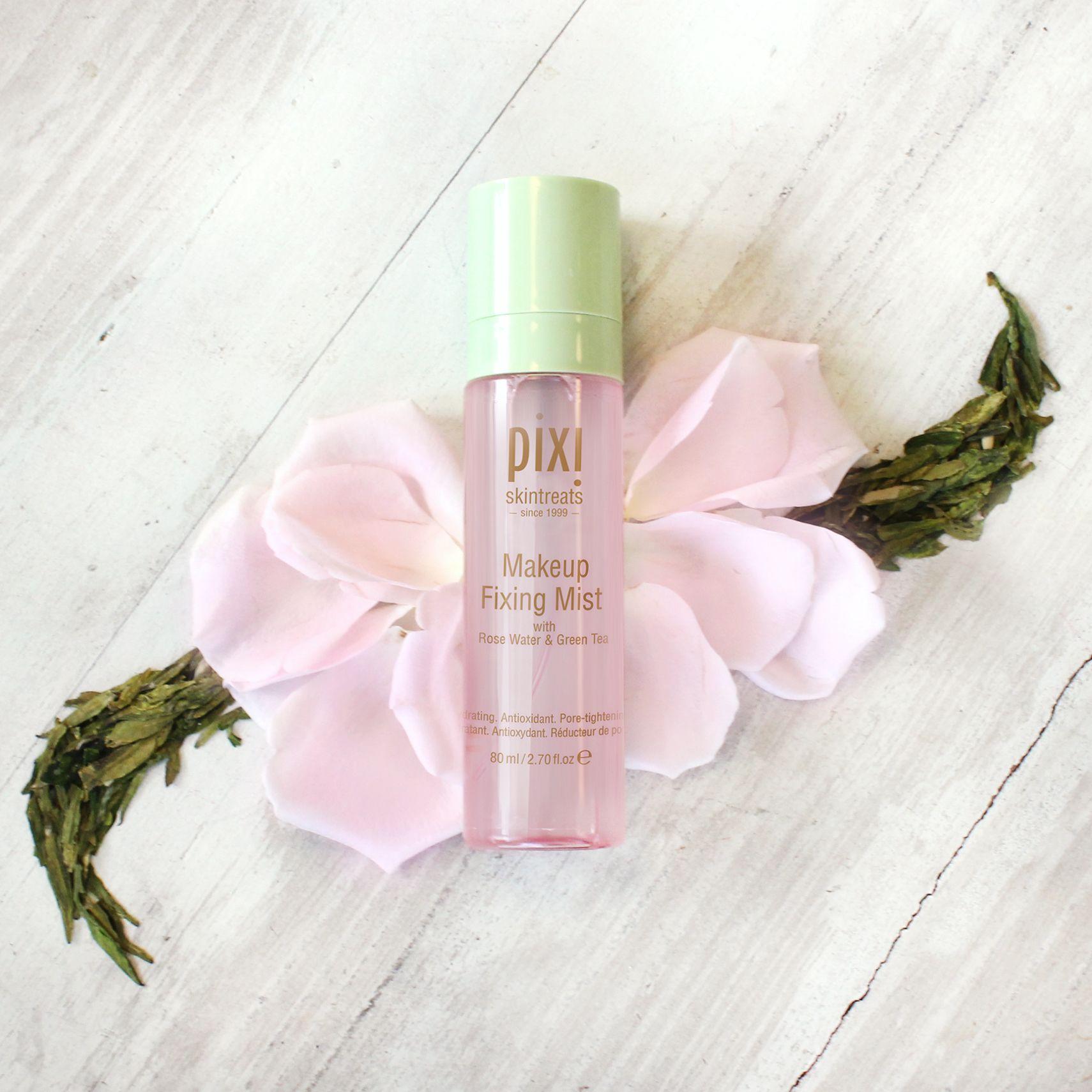 Makeup Fixing Mist Pixie makeup, Mists, Rose water