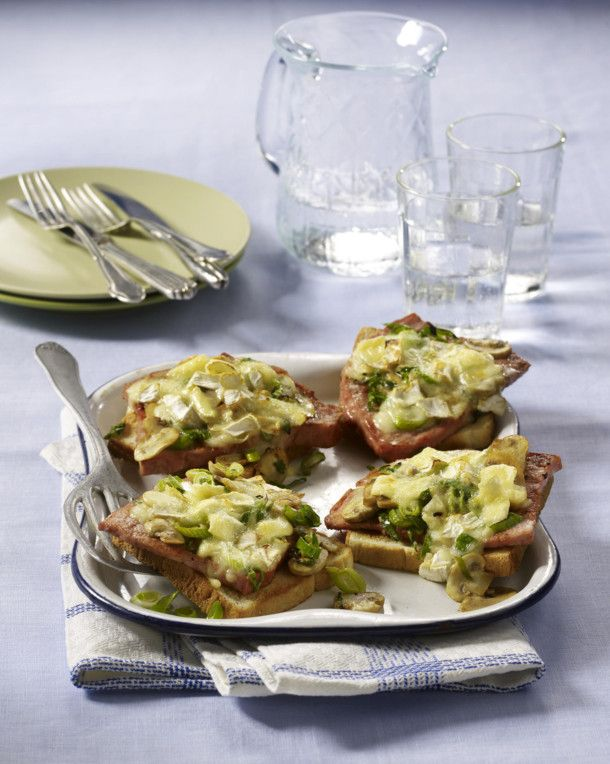 Überbackener Leberkäse-Toast Rezept | LECKER
