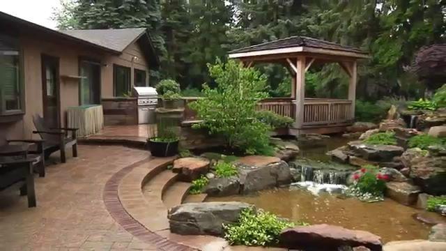 world s most beautiful backyard ponds ponds backyard on most beautiful backyard landscaping ideas id=98506