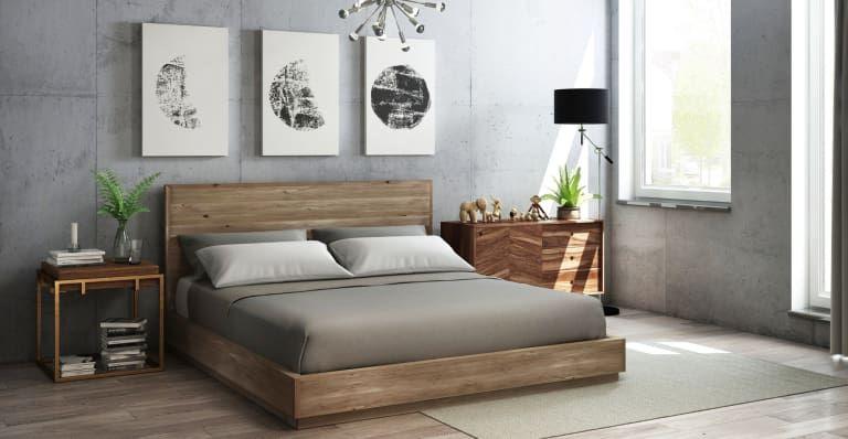 buy popular 7e6b8 162df Bruin Wooden King Size Bed Frame | Furniture I like in 2019 ...