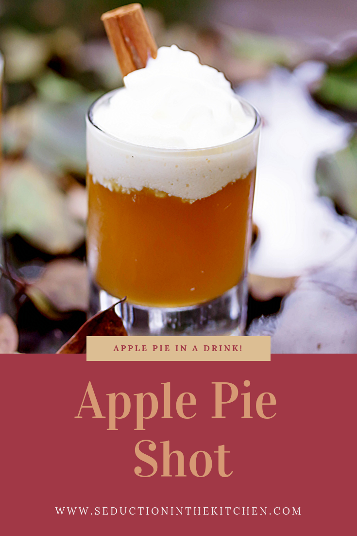 Apple Pie Shot {Fireball Whiskey Recipe}