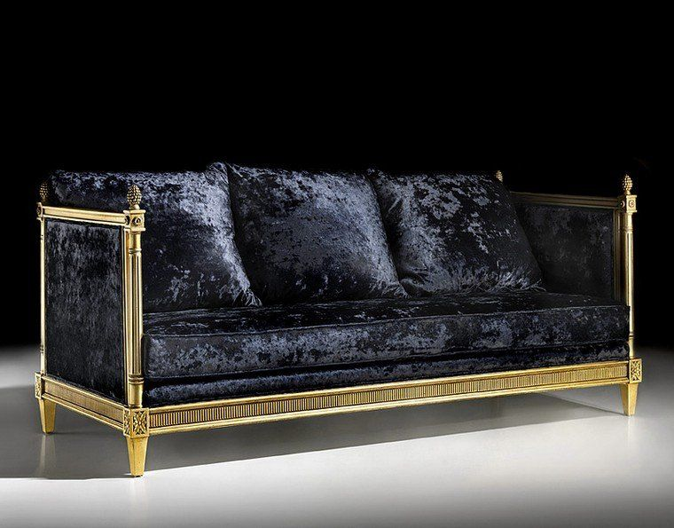 Weiches Samtsofa Und Alles Elegant Mobel Design Dekoration Samt Sofa Kleines Sofa Samtsofa