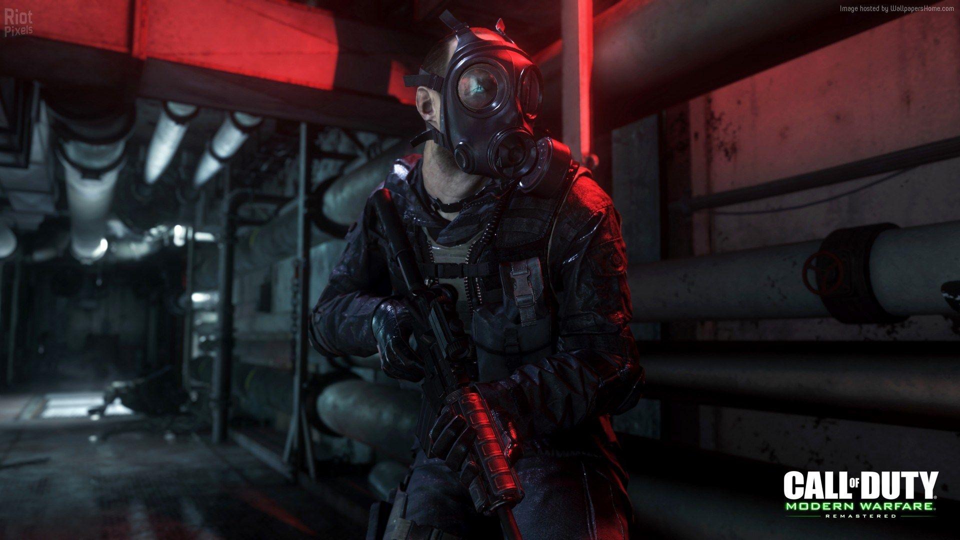 Call Of Duty Modern Warfare Remastered Wallpaper Games