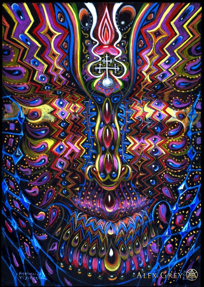 art Alex grey
