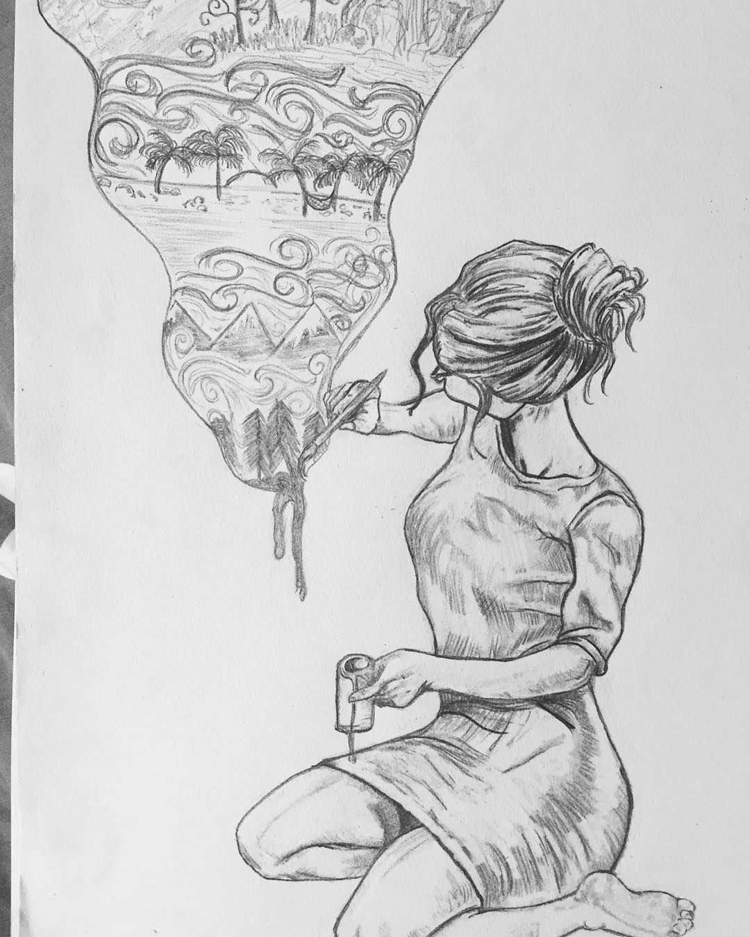 Alexa Rae On Instagram Old Drawing That I Did I Don T Think I