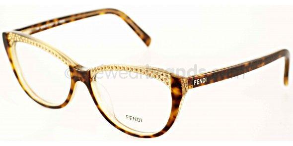 faf03a82ac Fendi F 1003R Fendi F1003R 249 Havana Fendi Glasses