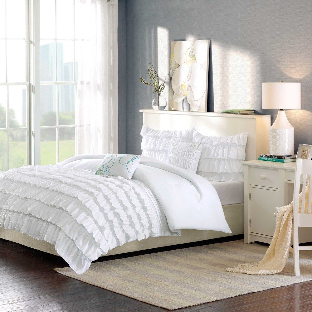 ID-Intelligent Design Demi 3-piece Comforter Set | Overstock.com Shopping - The Best Prices on ID-Intelligent Designs Teen Comforter Sets