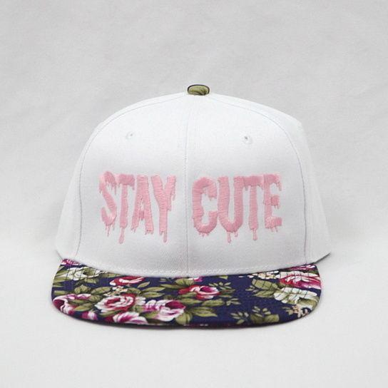 White Floral Snapback New Hip Hop Beats Uploaded EVERY SINGLE DAY http://www.kidDyno.com