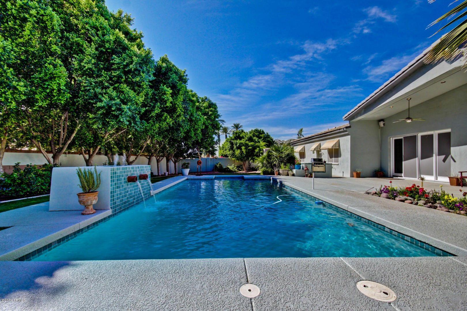 az pools arcadia az home for sale with pool outdoors