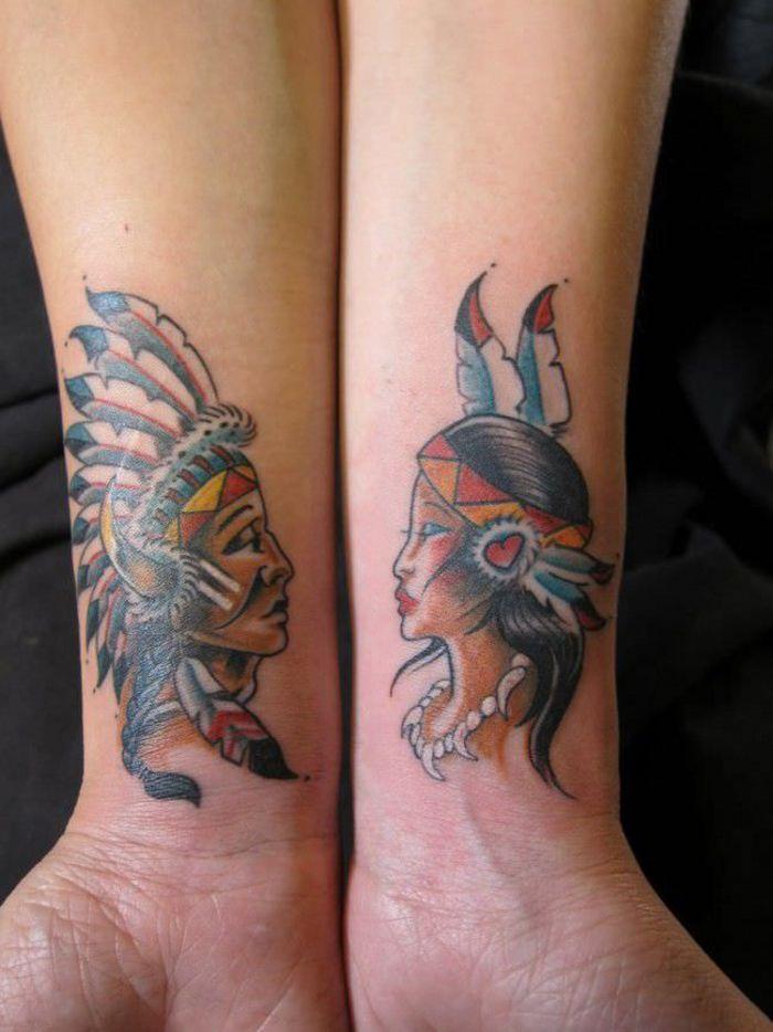 57 Coole Tattoos Fur Paare Die Ewige Liebe Symbolisieren Trends