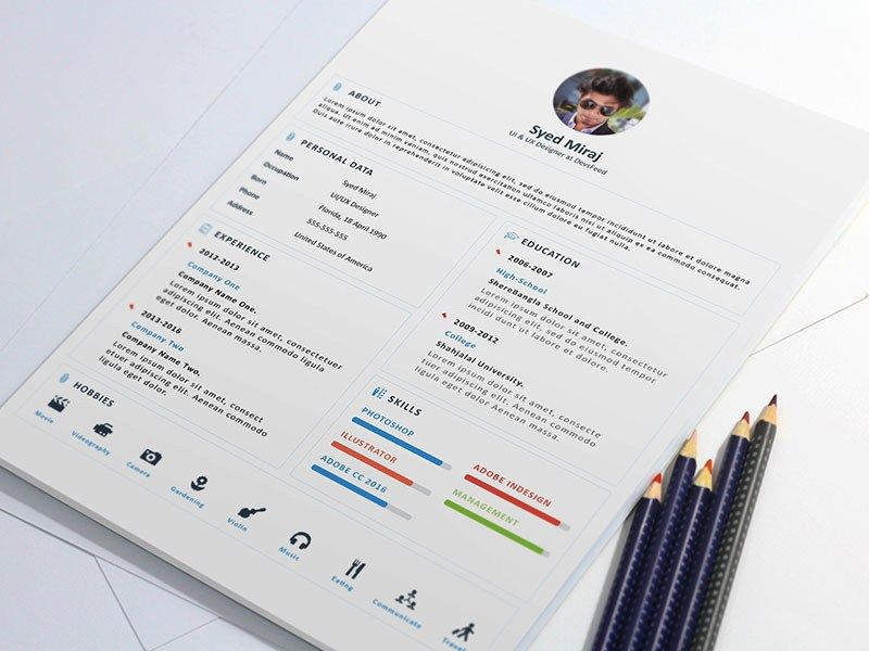 Free Resume Template with Cover Letter Freebies Pinterest - free resume and cover letter