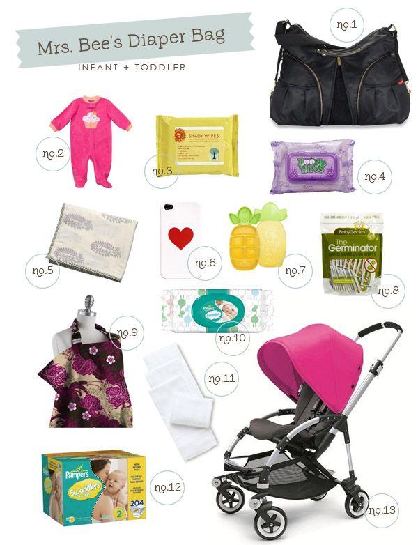 Found on Hellobee.com! mrs bee's diaper bag bee edit f