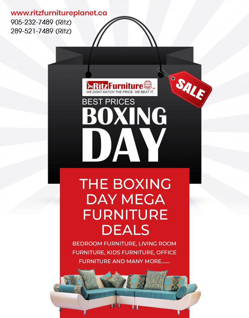 Get Advantage Of Boxing Day Mega Furniture Deals In Mississauga