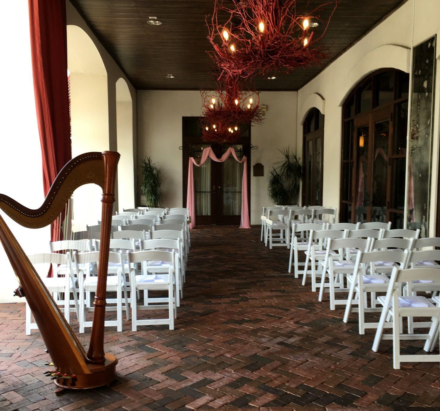 Outdoor Wedding Ceremony Orlando: Outdoor Ceremony At Bohemian Celebration Hotel In Orlando