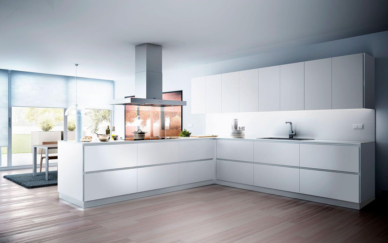 Sin tirador | Muebles de cocina XEY | Cocinas | Cocinas modernas ...