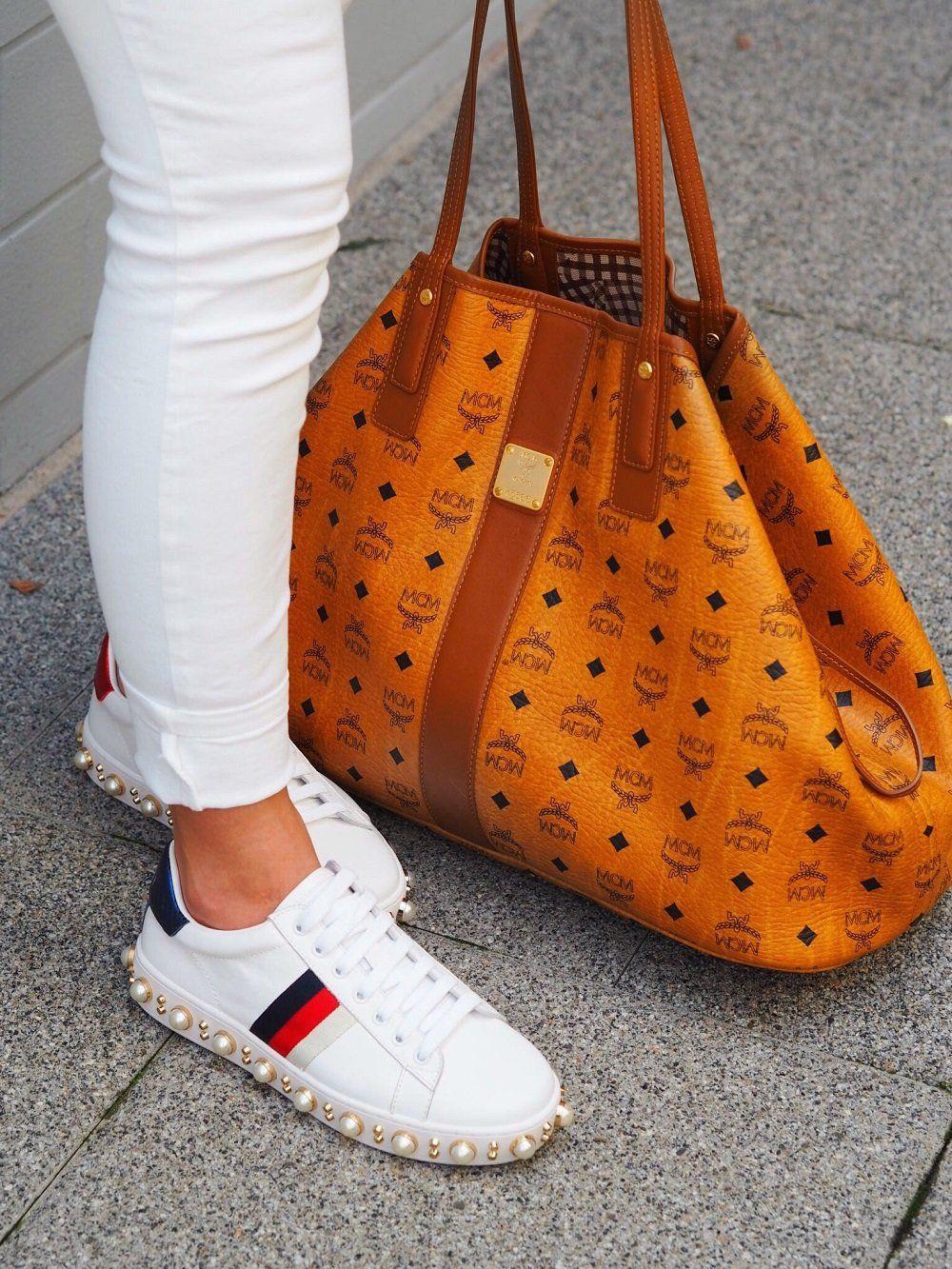 OOTD: Sunny Days mit MCM Shopper | Schuhe damen, Mcm shopper