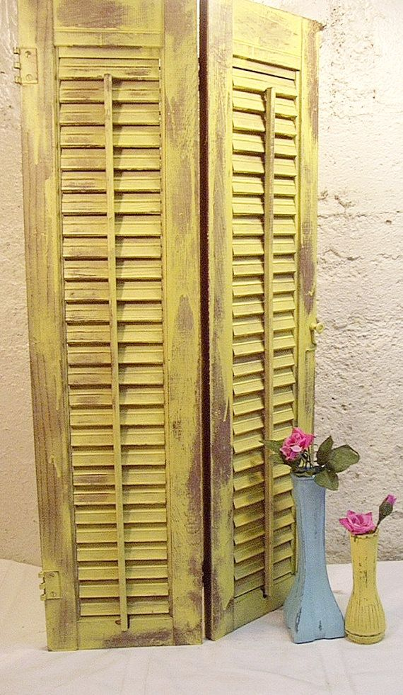 distressed shutter robins egg blue shabby decor plantation