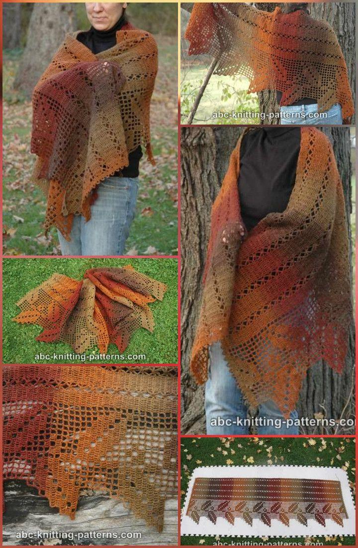 100 Free Crochet Shawl Patterns - Free Crochet Patterns   Chal ...