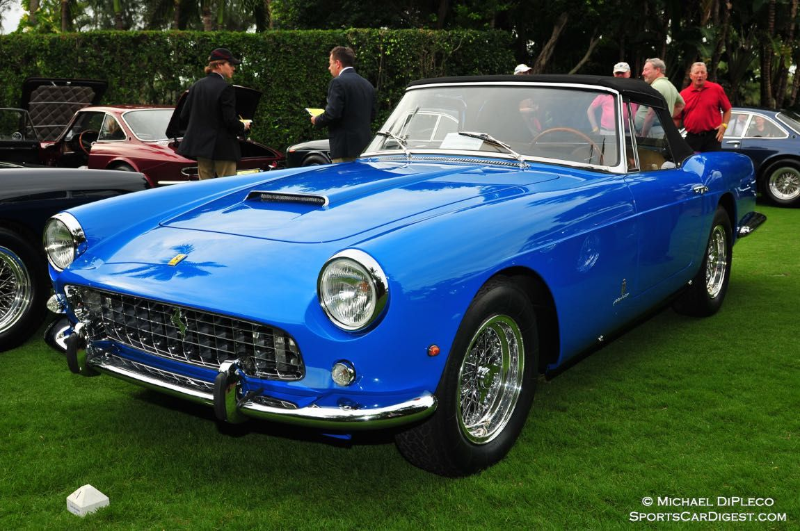 1962 Ferrari 250 PF Cabriolet Series II Serial No. 3089 GT.