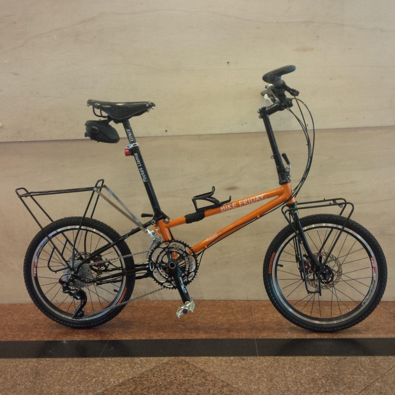 Bike Friday Pocket Llama Diamond Sepeda