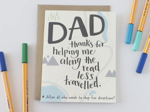Funny Fathers Day Card, Dad Card, Father's Day Card, Card for Dad, Dad Birthday Card, Funny Cards for Men, Card from Son, Card for Him