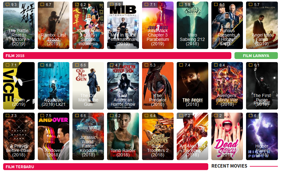 merupakan Situs Nonton Film Bioskop Dunia21
