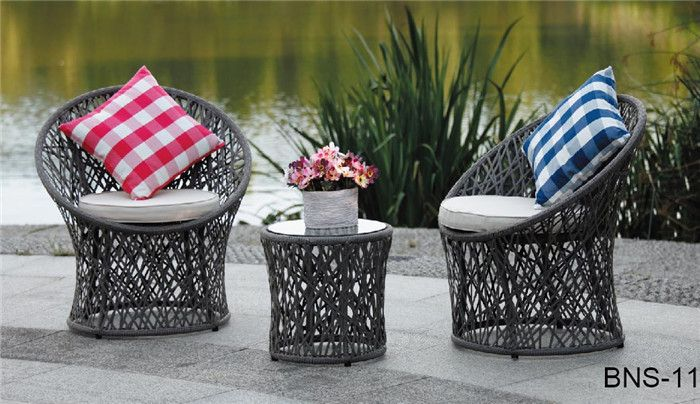 Pure white and translucence beautiful design garden furniture rattan ...