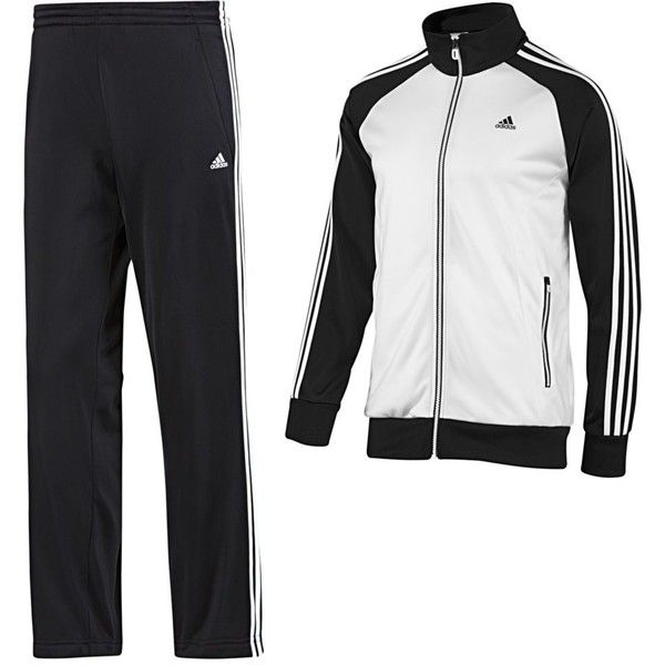 Adidas Riberio Track Suit ($34) ❤ liked on Polyvore featuring mens e men's clothing