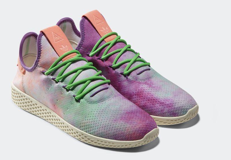 Adidas Originals by Pharrell Williams: Hu Holi Powder Dye