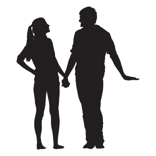 Talking And Holding Hands Couple Silhouette Ad Affiliate Affiliate Holding Silhouette Co Couple Silhouette Silhouette Digital Illustration Tutorial