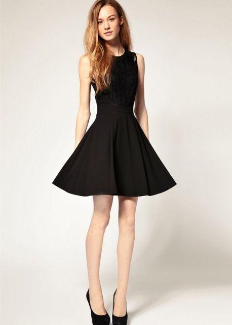 20 Ideas de Vestidos Negros para el Día de San Valentín - Vestidos Mania 57988189abf1
