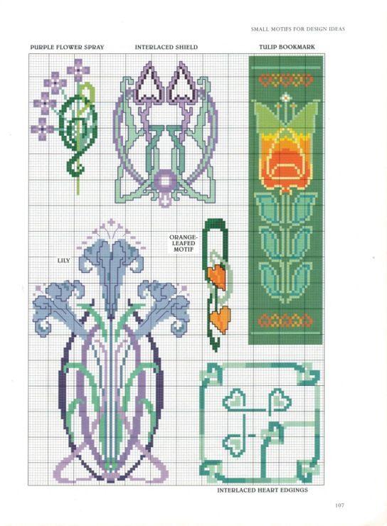 Gallery.ru / Фото #90 - 16 - ZinaidaR   Cross Stitch Flowers ...