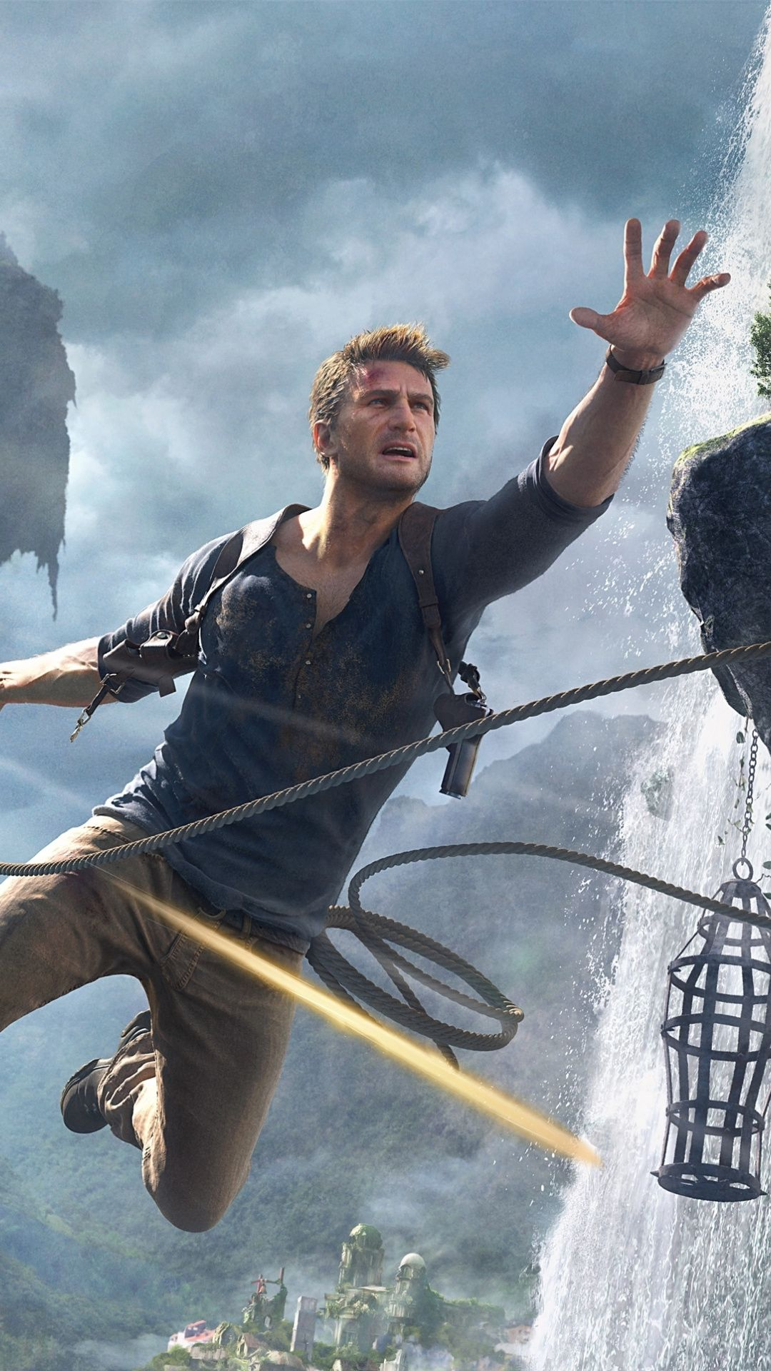 1080x1920 Game Uncharted 4 A Thief S End 2020 Jump Wallpaper