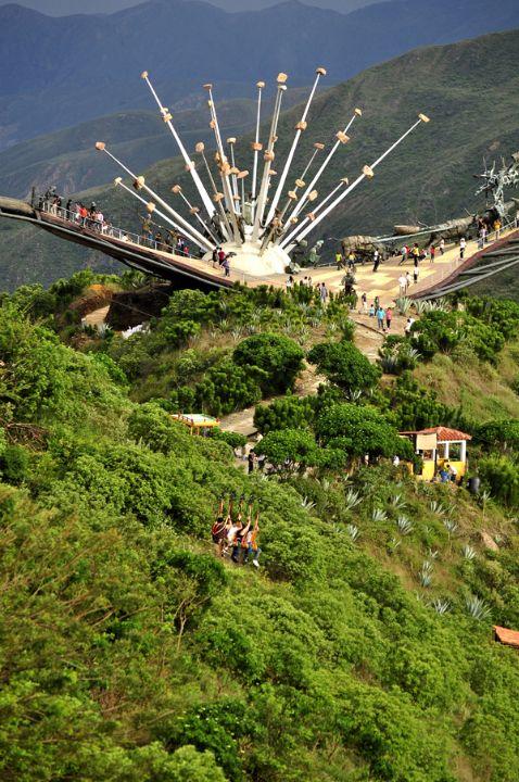 Parque nacional chicamocha - santander - colombia