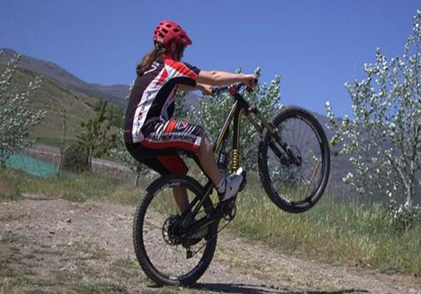 Image result for track stand mountain bike