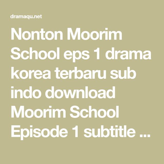 Drama Korea Circle Sub Indo