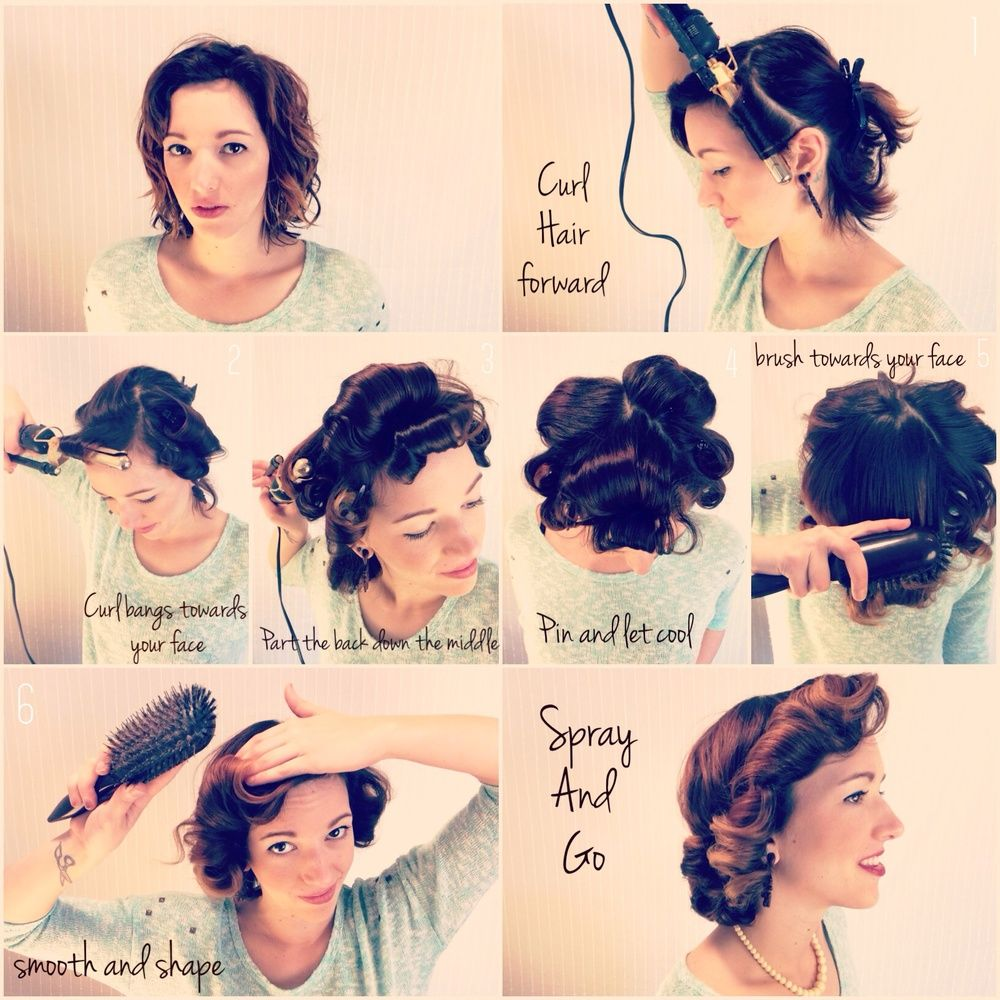 The Kitty Hair Styles 1950s Housewife Hair 1950s Hairstyles